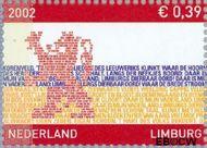 Nederland NL 2073  2002 Provincie- zegel Limburg 39 cent  Gestempeld
