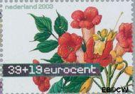 Nederland NL 2167  2003 Aquarellen van bloemen 39+19 cent  Gestempeld