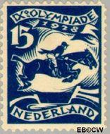 Nederland NL 218  1928 Olympische Spelen- Amsterdam 15+2 cent  Postfris