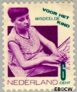Nederland NL 242  1931 Misdeelde kind 6+4 cent  Gestempeld