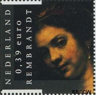 Nederland NL 2433  2006 Rembrandt 39 cent  Gestempeld