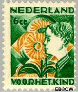 Nederland NL 250  1932 Kinderen en bloemen 6+4 cent  Gestempeld
