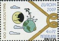Nederland NL 2514  2007 Scouting 72 cent  Gestempeld
