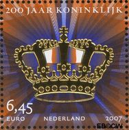 Nederland NL 2519a#  2007 Koninklijk  cent  Gestempeld