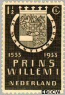 Nederland NL 252  1933 Prins Willem I 1½ cent  Postfris