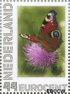 Nederland NL 2563d#  2009 Vlinder (Dagpauwoog)  cent  Gestempeld