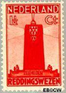 Nederland NL 257  1933 Zeemanszegels 1½+1½ cent  Gestempeld