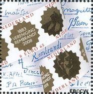 Nederland NL 2578a#  2008 Vereniging Rembrandt  cent  Postfris