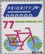 Nederland NL 2621  2009 Europa en buiten Europa priority 77 cent  Gestempeld
