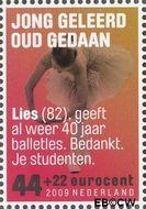 Nederland NL 2641c  2009 Ouderenzegels- Vergeet ze niet 44+22 cent  Gestempeld