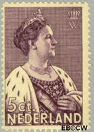 Nederland NL 265  1934 Nationaal Crisis Comité 5+4 cent  Gestempeld