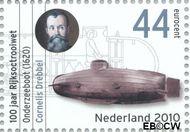 Nederland NL 2697  2010 Rijksoctroowet 44 cent  Gestempeld