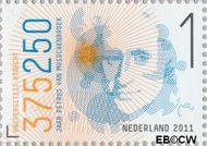 Nederland NL 2799  2011 Universiteit van Utrecht 1 cent  Gestempeld