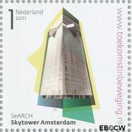 Nederland NL 2808  2011 Stad van Nederland 1 cent  Gestempeld