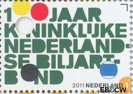 Nederland NL 2818  2011 Kon. Ned. Biljartbond 1 cent  Gestempeld