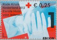 Nederland NL 2902c  2012 Het Nederlandse Rode Kruis 1+0,25 cent  Gestempeld