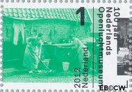 Nederland NL 2915  2012 Nederlands Openluchtmuseum 100 jaar 1 cent  Gestempeld