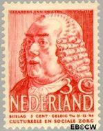 Nederland NL 320  1939 Bekende personen 3+3 cent  Gestempeld