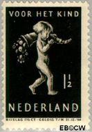 Nederland NL 327  1939 Kind met hoorn des overvloeds 1½+1½ cent  Gestempeld