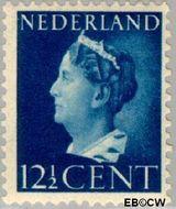 Nederland NL 336  1940 Wilhelmina- Type 'Konijnenburg' 12½ cent  Gestempeld