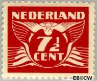 Nederland NL 381  1941 Vliegende Duif 7½ cent  Gestempeld