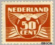 Nederland NL 391  1941 Vliegende Duif 50 cent  Gestempeld