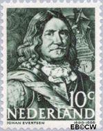 Nederland NL 413  1943 Zeehelden 10 cent  Gestempeld