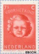 Nederland NL 447  1945 Kinderkopje 7½+4½ cent  Postfris