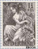 Nederland NL 449  1946 Nationale-hulpzegel 1½+3½ cent  Gestempeld