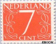 Nederland NL 467  1953 Cijfer type 'van Krimpen' 7 cent  Gestempeld