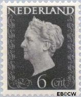 Nederland NL 475  1947 Koningin Wilhelmina- Type 'Hartz' 6 cent  Gestempeld