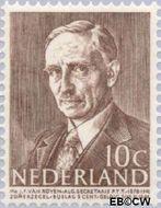 Nederland NL 493  1947 Bekende personen 10+5 cent  Gestempeld