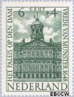 Nederland NL 501  1948 Paleizen 6+4 cent  Gestempeld