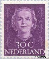 Nederland NL 526  1949 Koningin Juliana- Type 'En Face' 30 cent  Gestempeld