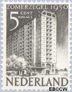 Nederland NL 552  1950 Wederopbouw 5+3 cent  Gestempeld