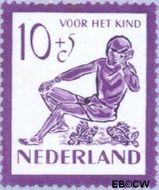 Nederland NL 566  1950 Kind en dieren 10+5 cent  Postfris