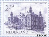 Nederland NL 568  1951 Kastelen 2+2 cent  Gestempeld
