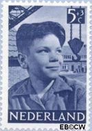 Nederland NL 574  1951 Foto's van kinderen 5+3 cent  Postfris