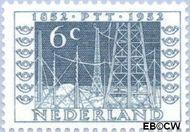 Nederland NL 593  1952 Postzegeltentoonstelling I.T.E.P. 6 cent  Gestempeld