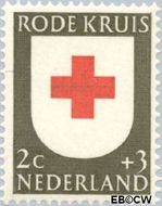 Nederland NL 607  1953 Rode Kruis 2+3 cent  Postfris