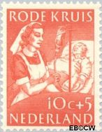 Nederland NL 610  1953 Rode Kruis 10+5 cent  Gestempeld