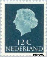 Nederland NL 618  1954 Koningin Juliana- Type 'En Profile' 12 cent  Gestempeld