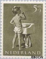 Nederland NL 650  1954 Opvoeding en leren 5+3 cent  Gestempeld