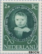 Nederland NL 666  1955 Kinderportretten 2+3 cent  Gestempeld
