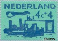Nederland NL 722  1959 Deltawerken 4+4 cent  Gestempeld