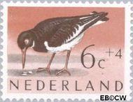 Nederland NL 753  1961 Vogels 6+4 cent  Gestempeld