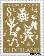Nederland NL 761  1961 Feesten 8+4 cent  Gestempeld