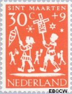 Nederland NL 763  1961 Feesten 30+9 cent  Postfris
