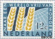 Nederland NL 784  1963 Anti-honger campagne U.N.O. 12 cent  Gestempeld