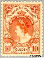 Nederland NL 80  1905 Koningin Wilhelmina- 'Bontkraag' 1000 cent  Gestempeld
